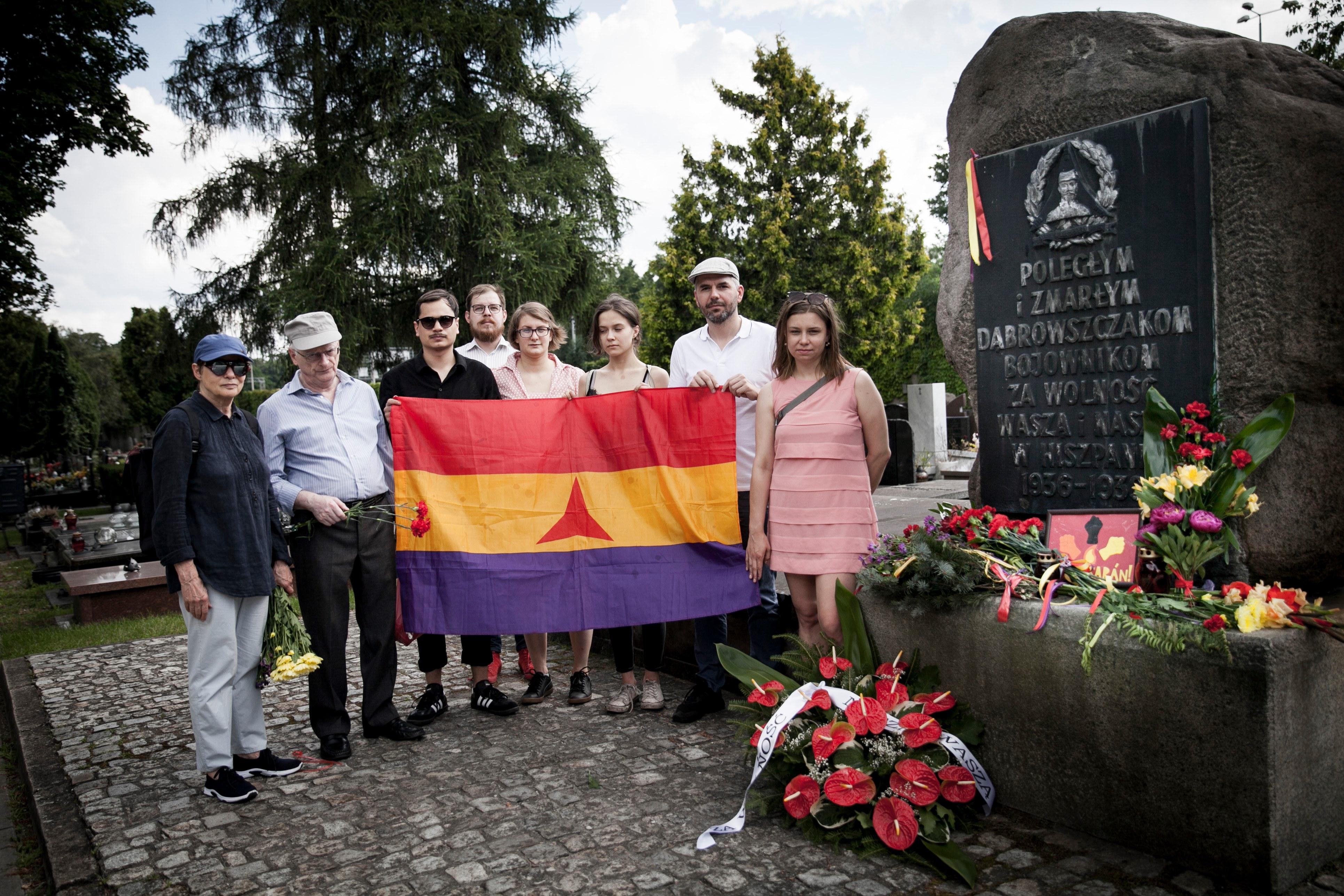 84. rocznica wybuchu hiszpańskiej wojny domowej. Fot. Emilia Oksentowicz (1)