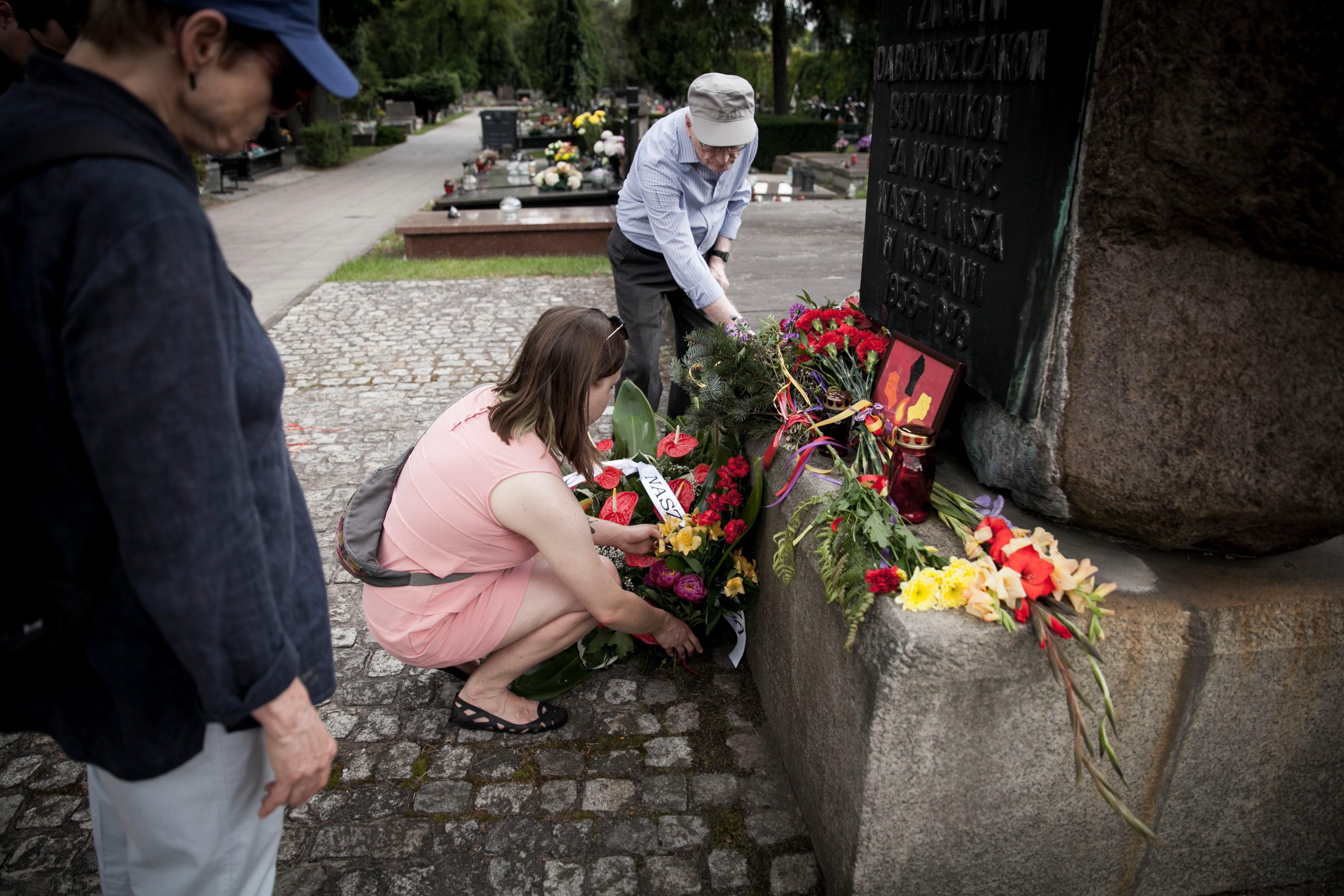 84. rocznica wybuchu hiszpańskiej wojny domowej. Fot. Emilia Oksentowicz
